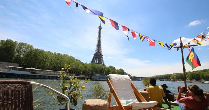 Hausboot mit oder ohne Skipper Peniche mieten in Paris