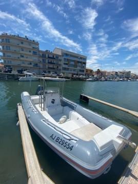 Schlauchboot mieten in Palavas-les-Flots - Lomac Lomac 760 Club