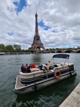 Vermietung Motorboot SUNCHASER mit Führerschein
