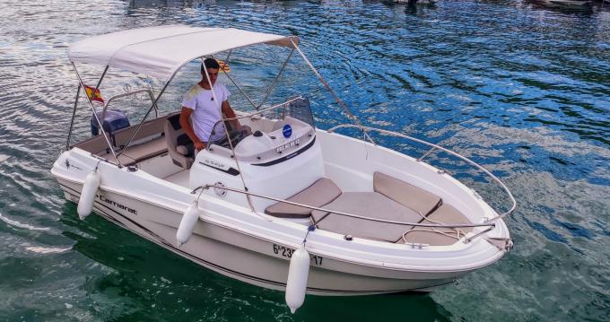 Motorboot mit oder ohne Skipper Jeanneau mieten in l'Estartit