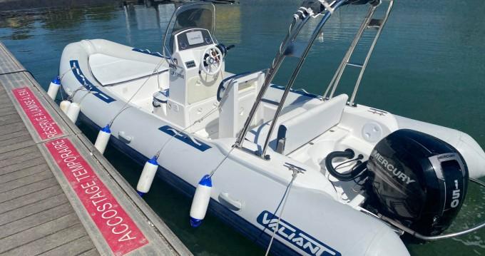 Vermietung Schlauchboot Valiant mit Führerschein