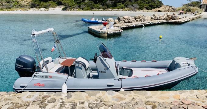 Schlauchboot mit oder ohne Skipper Capelli mieten in Hyères