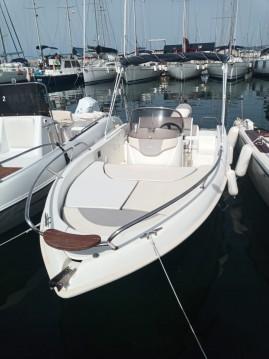 Vermietung Motorboot T.A.MARE mit Führerschein