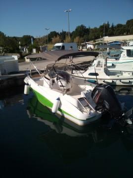 Schlauchboot mit oder ohne Skipper Quicksilver mieten in Vrsar