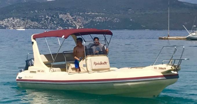 Vermietung Schlauchboot Eagle mit Führerschein