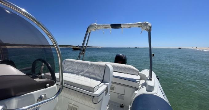 Schlauchboot mit oder ohne Skipper Lomac mieten in Grand Piquey
