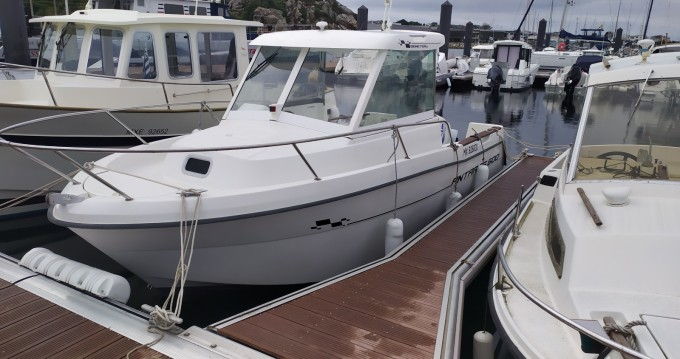 Motorboot mieten in Roscoff zum besten Preis