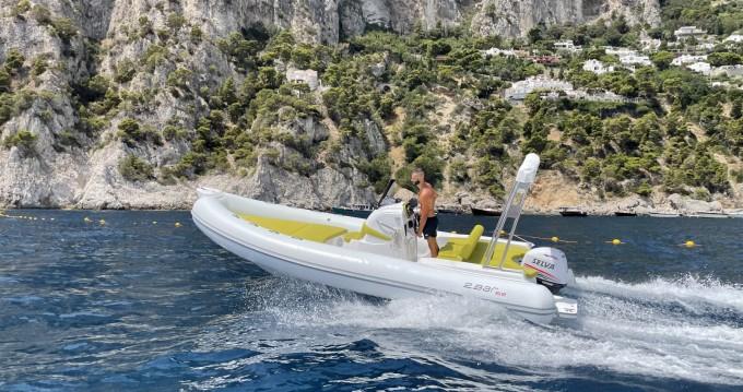 Vermietung Motorboot speedy mit Führerschein