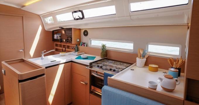 Bootsverleih Kos günstig Sun Odyssey 410