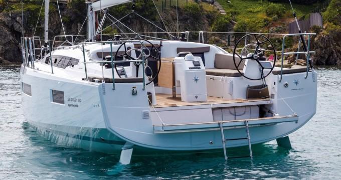 Ein Jeanneau Sun Odyssey 410 mieten in Lefkada (Island)