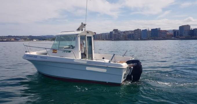 Motorboot mit oder ohne Skipper Mery Nautic mieten in Fuejo (Gijon)