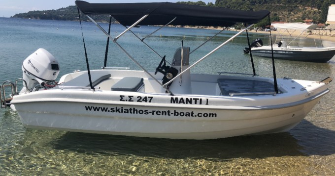 Motorboot mieten in Skiathos - Ahellas 30 HP TOHATSU