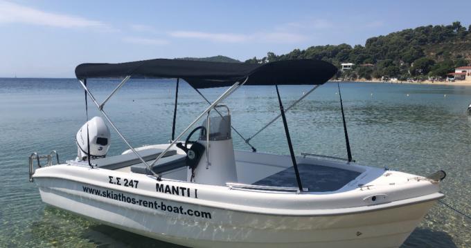 Motorboot mit oder ohne Skipper Ahellas mieten in Skiathos
